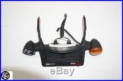 02-06 Harley Davidson V-rod Vrod Back Fender License Plate Mount Turn Signal Set