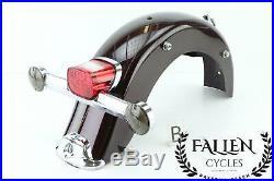 06 Harley Road King BLACK CHERRY Rear Back Fender Brake Turn Light Signal Assem