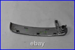07-11 Jaguar XK Left Driver Fender Trim Vent Chrome 6W83-280B11-AD OEM