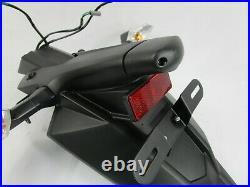 12-16 Kawasaki Ninja Ex 650 Rear Fender License Plate And Bracket Turn Signal