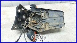 12 Yamaha XT1200 XT 1200 Z Super Tenere rear back fender & turn signals blinkers