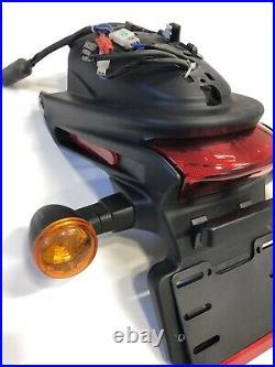 14-20 Harley-davidson Street 750 Xg750 Rear Fender Guard Turn Signals Assembly