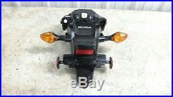 14 Honda CTX 700 CTX700 rear back fender and turn signals blinkers