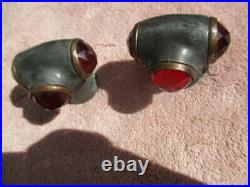 1914-1920's fender mounted lights and turn signal