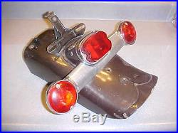 1955 To 1957s Harley Rear Fender Flip Panhead Twins Motorcycle Turn Signals