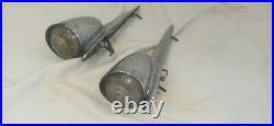 1956-1961 Studebaker Hawk Fender Parking Lights Set Of 2 56PC -SP408