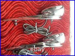 1956 Studebaker Hawk Top Fender Parking/turn Signal Chrome Lights Pair