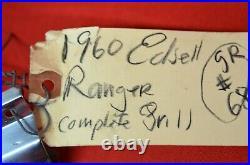 1960 Edsel Grill Ranger Villager Grill Turn Signal Trim Molding Housing Fender R