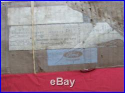 1964 Mercury fender moulding, RH, NOS! C4MY-16164-A Monterey, Montclair