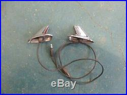 1966 66 Plymouth Barracuda fender mounted turn signals 2606026 2606027