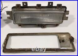 1968 1969 Cadillac Eldorado Front Fender Side Marker Signal Lights Guide Trim