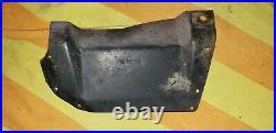 1969 1968 dodge coronet upper inner fender turn signal light shield bracket rare
