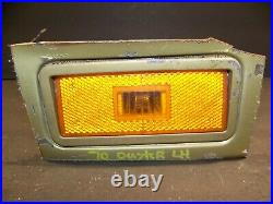 1970 Plymouth Duster Lh Fender Amber Turn Signal Oem 3403765