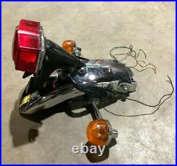 1974-76 Honda CB360 CB360T OEM Rear Fender Taillight Turn Signals Subframe Skirt