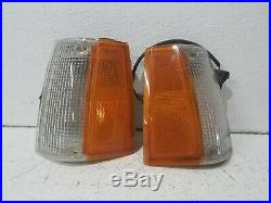 1988-1993 mazda b2200 / b2600 park lamp set fender mounted corner lights OEM