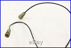 1992 Brougham Fleetwood oem fender fiber optic headlight turn signal indicators
