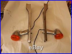 1994-2003 HARLEY SPORTSTER FENDER STRUT COVERS TURN SIGNALS 1200 883 xl custom