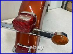1996 Harley Electra Glide Touring Flh Rear Fender & Brake Light Turn Signal Bar