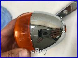 1997 Harley Sportster 1200 883 Chrome Rear Turn Signals & Rear Fender Struts