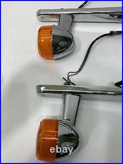 1999 Harley-Davidson Sportster Xl883 Rear Turn Signals Fender Strut Chrome
