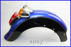 1999 Victory V92 Rear Fender with Tail Light Turn Signals Plate Mount