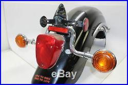2001 Yamaha Midnight Star XV1600 Rear Back Wheel Fender Tail Light & Turn Signal