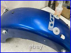 2002 Harley Davidson Flh Electra Glide Rear Fender & Turn Signal Light Bar