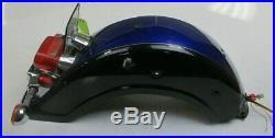 2002 Suzuki Intruder Volusia 800 VL800 OEM REAR FENDER TURN SIGNALS DAMAGE ETC