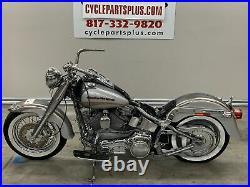 2005 Harley-Davidson FLSTFSE CVO Fat Boy Fender Struts & Rear Turn Signals