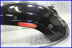 2007 KAWASAKI VULCAN 900 VN900C CUSTOM REAR FENDER WithTAILLIGHT, TURN SIGNALS