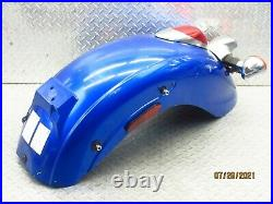 2009 06-16 Kawasaki Vulcan 900 VN900 Classic Rear Fender Turn Signals Tail Light