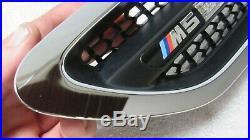 2011-2016 BMW F10 M5 M Front Left Driver Fender Grille w Turn Signal Light OEM