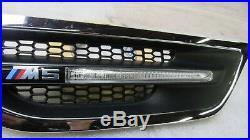 2011-2016 Bmw F10 M5 Left Driver Fender Grille Turn Signal Light Oem 7048