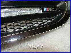 2013-2016 BMW F10 M5 M Sedan Front Right Fender Grille w Turn Signal Light OEM