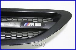 2013 2016 BMW M5 F10 Front Left & Right Fender Turn Signal Vent Grilles Oem