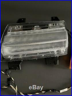 2018-2020 Jeep Wrangler JL LED DRL Fender Flare Turn Signal Lights Lamps OEM