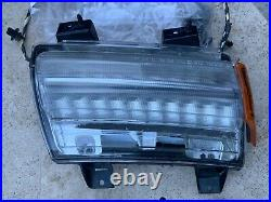 2018-2021 Jeep Wrangler JL Fender DRL Park Turn LED & Side Lamp Light Set