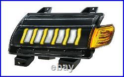 2021 LED Turn Signals Front Fender Turn Signal Lights for Jeep Wrangler JL Sport