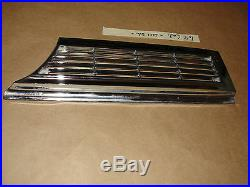65 1965 Cadillac LH SIDE HEADLIGHT FENDER MARKER LIGHT TURN SIGNAL CHROME BEZEL