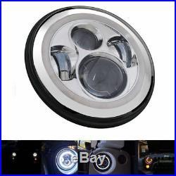 7 LED Headlight+4 Fog+Turn Signal+Fender Light Kit For 07-17 Jeep Wrangler JK