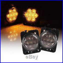 7 LED Headlight FogLights, Turn Signal, Fender Lamp, Tail light Jeep Wrangler