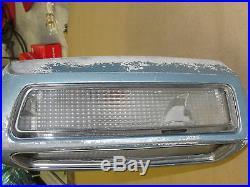 71 Cadillac Eldorado LEFT FRONT CORNER PARK TURN SIGNAL LIGHT FENDER EXTENSION