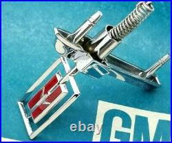 78 79 80 Olds Cutlass Supreme Hood Ornament Header Panel Emblem Gm Trim Molding