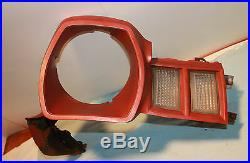 78 Ford Pinto front fender extension headlight grille turn signal