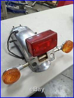 81 Honda CB750 Tail Light Turn Signals Fender