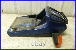 85 BMW K100 K 100 rear back fender tail cover cowl turn signals fairing