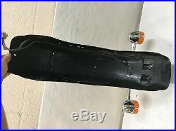 86-94 Fxr Fxlr Fxrp Fxrs Fxrc Rear Fender Turn Signal Brake Light Tins Oem Hd