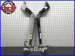 86-99 Harley SOFTAIL FLSTFI OEM Fender Strut Covers Support with Turn Signals