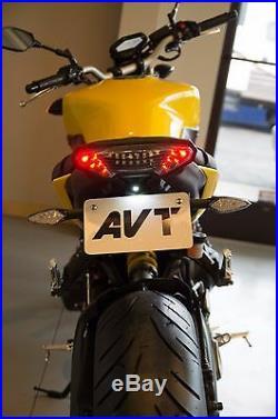 AVT 2014-2016 Yamaha FZ-09 Fender Eliminator NI Kit LED Turn Signals