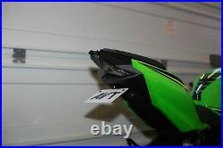 AVT Ninja 400 Fender Eliminator Kit LED Integrated Turn Signals Tail Light